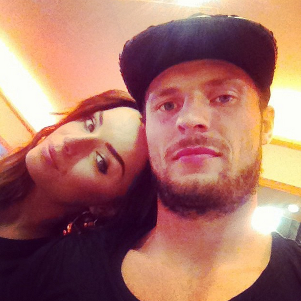 Erik Pieters with hot, beautiful, cute, Girlfriend Nermina Mekic
