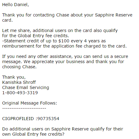 On additional sapphire reserve cards without a fee and keeping previously 2 chase online reheart Images