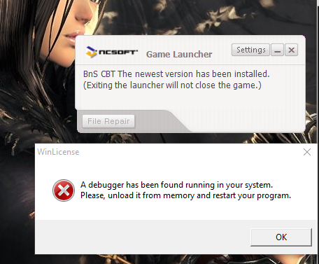 Ncsoft Launcher Data Error