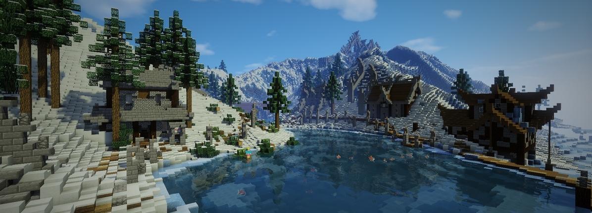 Ice Town Oblique